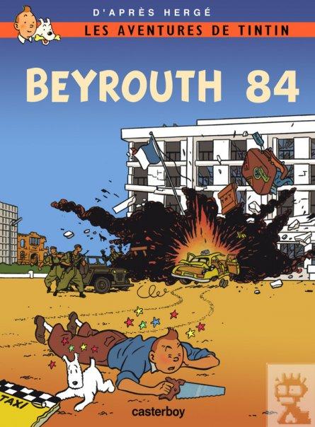 Tintin Beyrouth 84